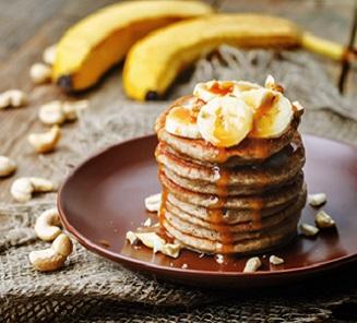 Bananen Pfannkuchen