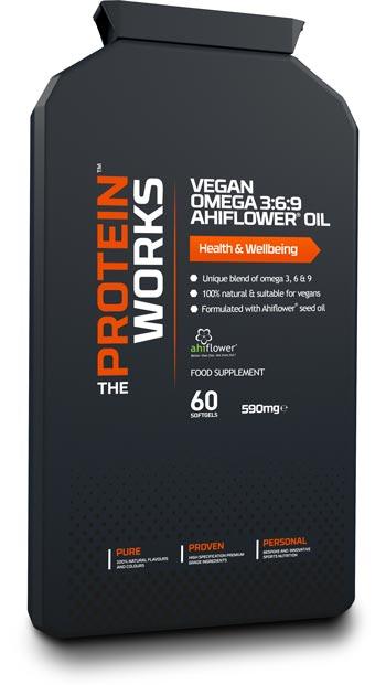 Vegan Omega 3 6 9 Ahiflower Oil