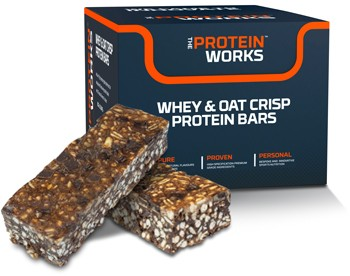 Whey  Oat Crisp Protein Flapjacks