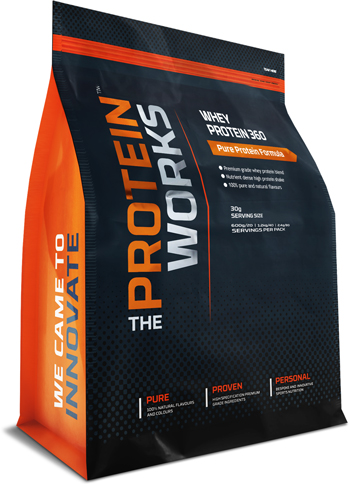 WHEY PROTEIN 360 (210G = 7 SERVINGS)