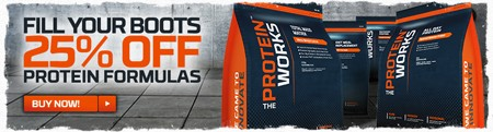 25 % rabat på proteinformler