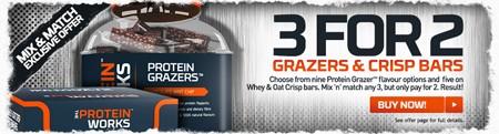 3 for 2 proteinbarer