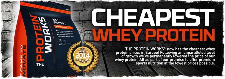 Cheapest Whey Protein