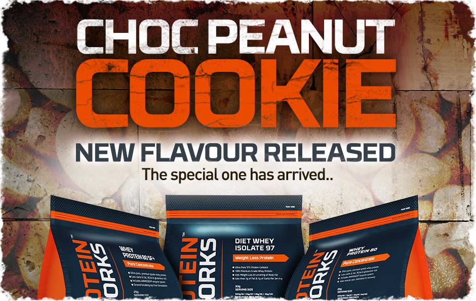 Chocolate Peanut Flavour Whey Protein