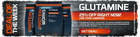 Ugens tilbud - 25 % rabat på Glutamin