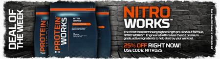 25 % rabat på Nitro Works