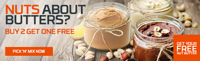 3 FOR 2 ON LUXURY NUT BUTTERS | CODE: NUT2