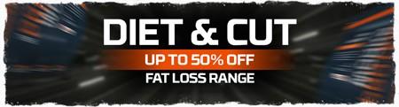 Op til 50 % rabat på Diet & Cut