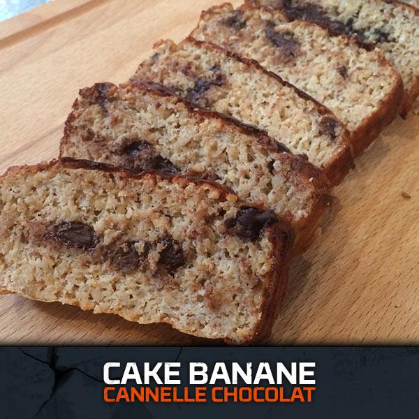 Cake Banane Caramel