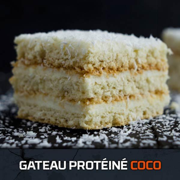 Gateau Protéine Coco