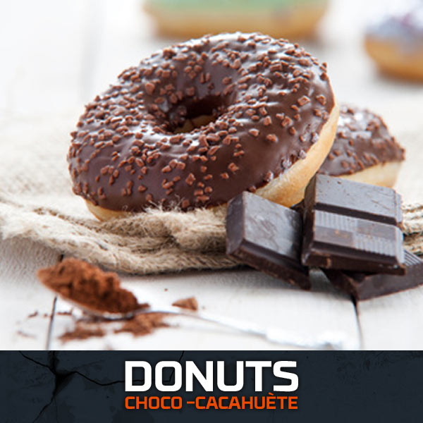 Donuts Choco-Cacahuète