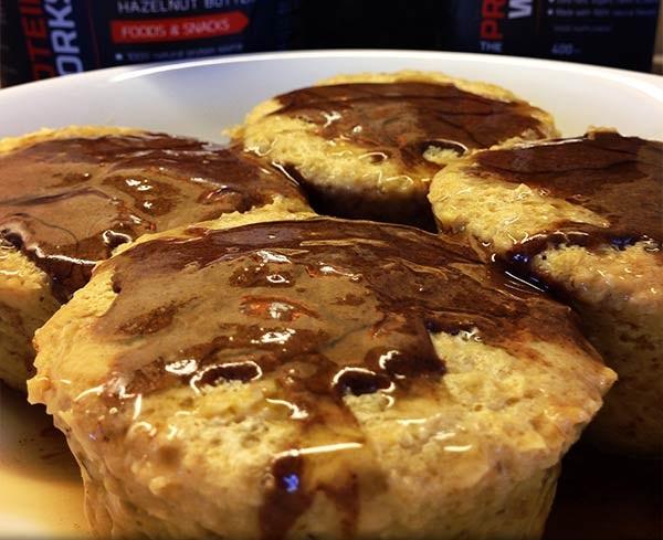 Muffins Protéinés Banane