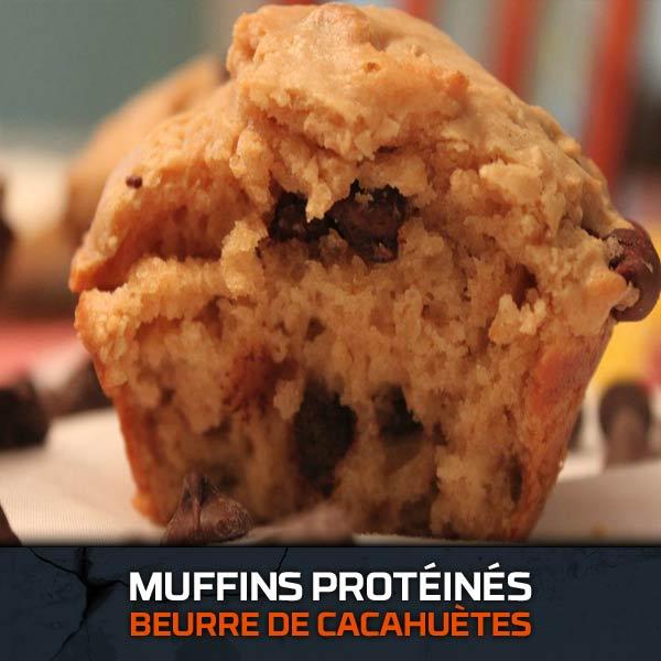 Muffins Protéinés Cacahuètes