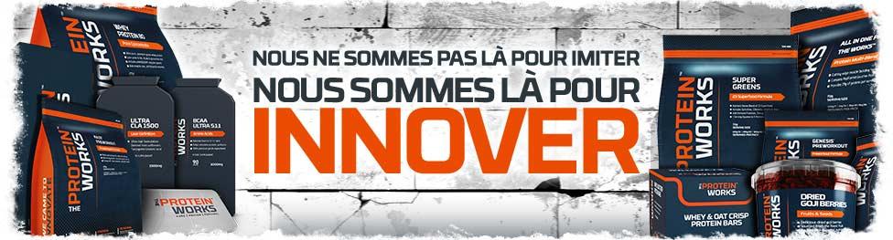 Innovation dans la Nutrition Sportive!