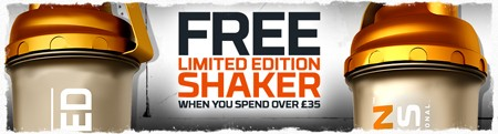 Gratis shaker weekend