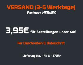 Hermes Lieferung nach Deutschland;