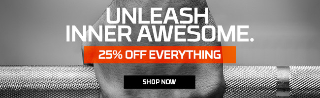 25% OFF EVERYTHING | CODE: UNLEASH