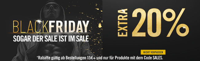 BLACK FRIDAY: EXTRA20%