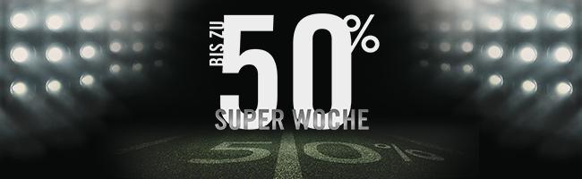 Bis zu 50% Rabatt + 15% Extra