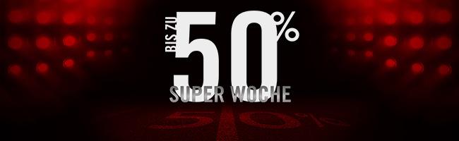 Bis zu 50% Rabatt + 30% Extra