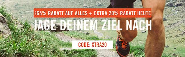 Bis zu 65% Rabatt + 20% EXTRA