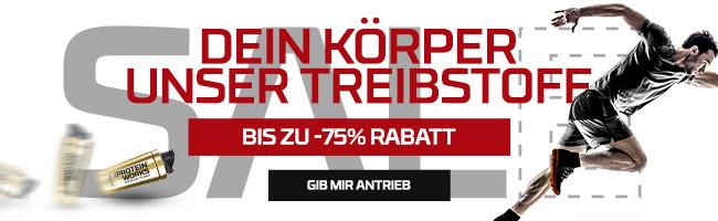 SALE - BIS ZU -75% RABATT | Code: FUEL10 - FUEL75