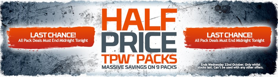 Half Price Packs