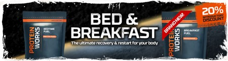 20% KORTING OP BED & BREAKFAST FUEL