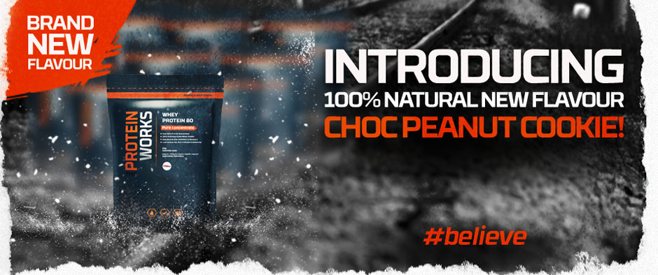 New Choc Peanut Cookie Flavour