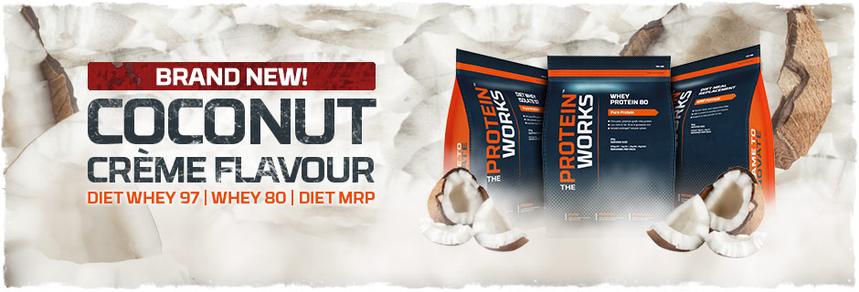 Coconut Creme Flavour Whey Protein