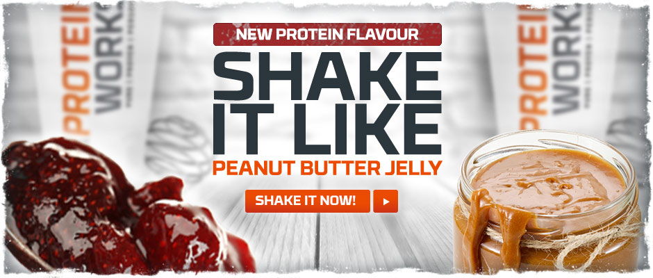 Peanut Butter Jelly Flavour Whey Protein