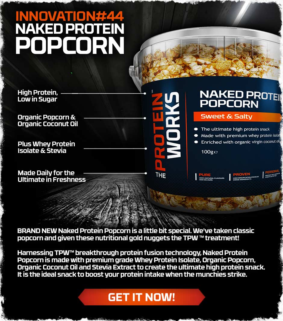 Naked Protein Popcorn