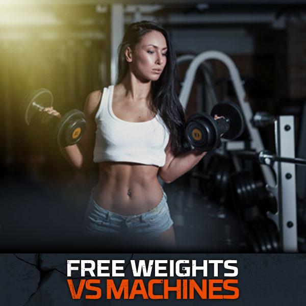Free Weight vs Machines