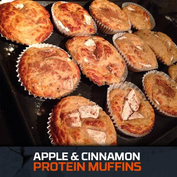 Aplpe & Cinnamon Muffins