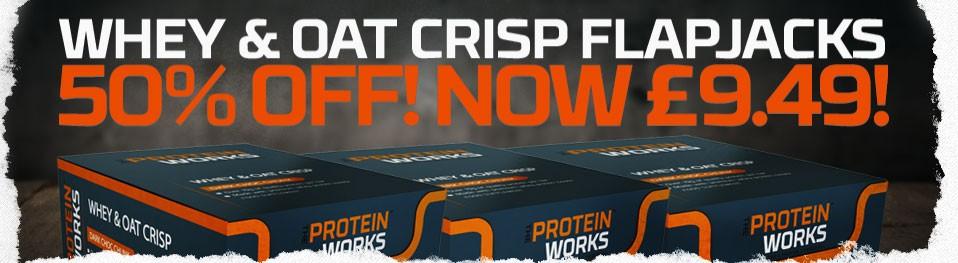 Half Price Protein Bars!