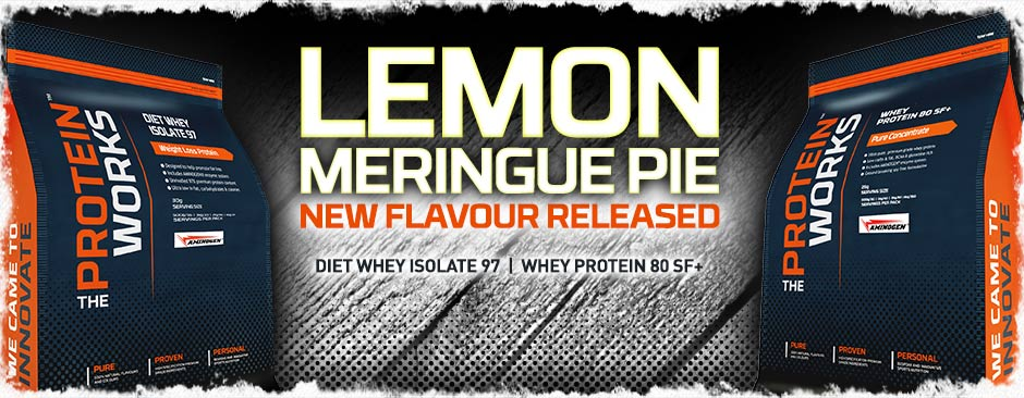 Lemon Meringue Flavour Whey Protein