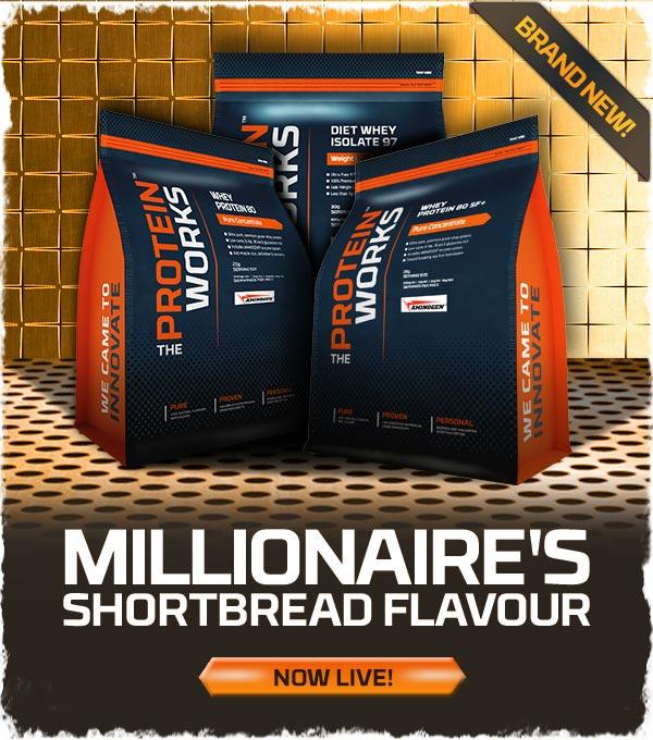 Millionaires Shortbread Flavour