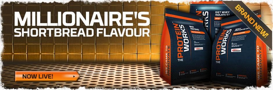 Millionaire's Shortbread Flavour Whey Protein