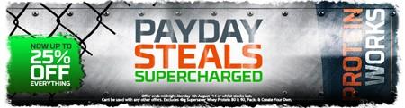 PAYDAY STEALS SUPERCHARGED | NU OP TIL 25% RABAT PÅ ALT!