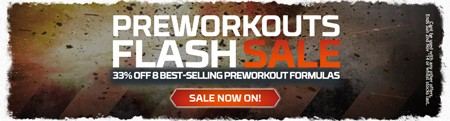 Pre-workout Flash Sale