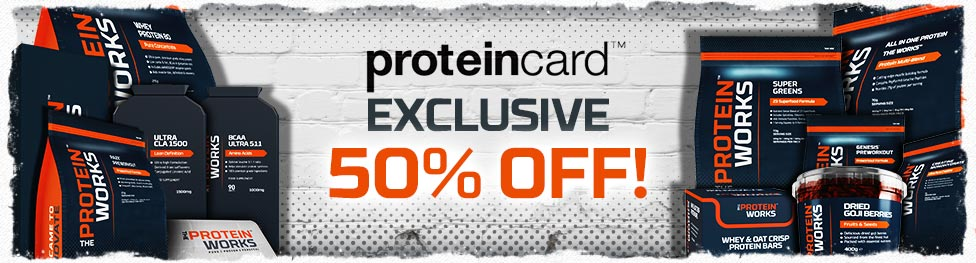 Protein Card Flash Sale