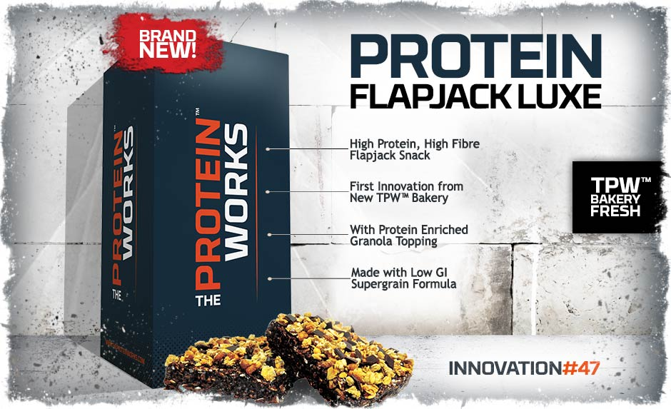 Protein Flapjack Luxe