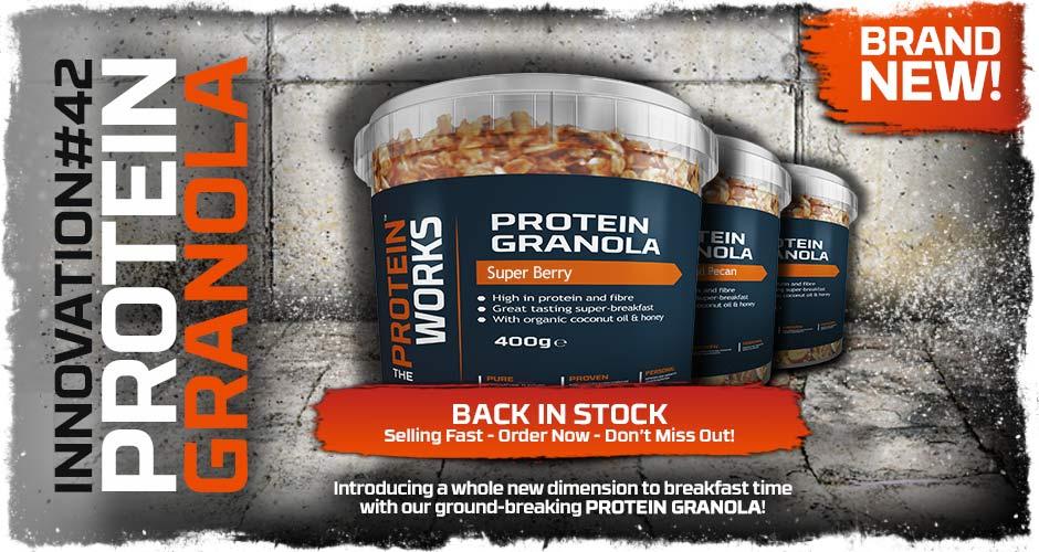 Buy Protein Granola Now