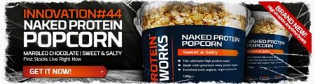 Nye Naked Protein Popcorn