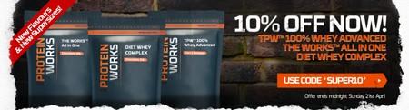 10 % på bedst sælgende proteinformler