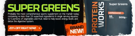 SUPER GREENS - INTROTILBUD MED 20 % RABAT!