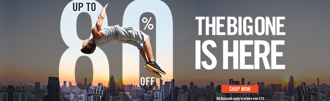 THE BIG ONE: UP TO 80% OFF!