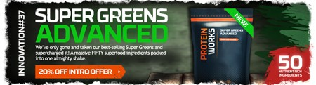 20% KORTING! GLOEDNIEUWE SUPER GREENS ADVANCED