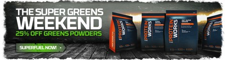 SUPER GREENS WEEKEND | 25% KORTING OP GREENS POWDERS!