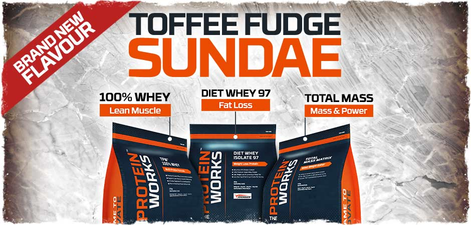 Toffee Fudge Flavour Whey Protein